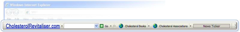 Lowering Cholesterol Toolbar for IE.